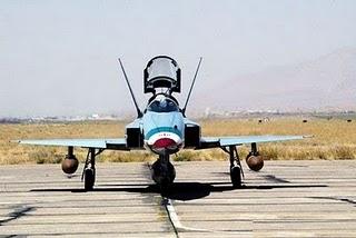 اینم جدید ترین عکس ازجدیدترین جنگنده ی ساخت داخل ایران سفره ماهی